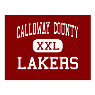 Calloway County - Lakers - Middle - Murray Postcard