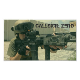 Callsign: Zero poster