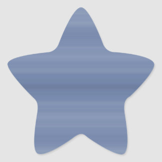 Calm Blue Star Sticker