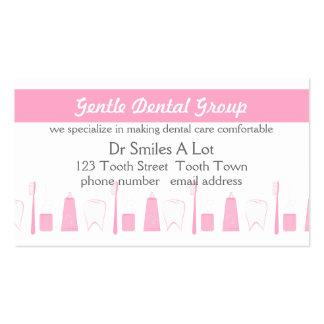 Calm Dental Care Business Card Template
