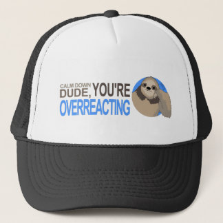 Calm down Sloth Trucker Hat