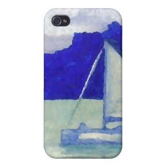 Calm Easy Sailing CricketDiane Ocean Art Covers For iPhone 4