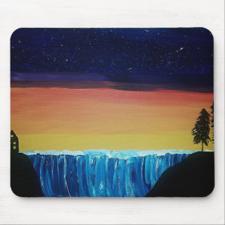 Calm Night Mouse Pad