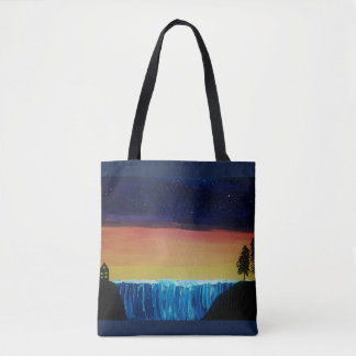Calm Night Tote Bag