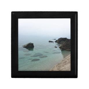 Calm ocean seascape, zen water photo gift box