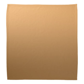 Calm One Color Gradient Golden Brown Do-rags