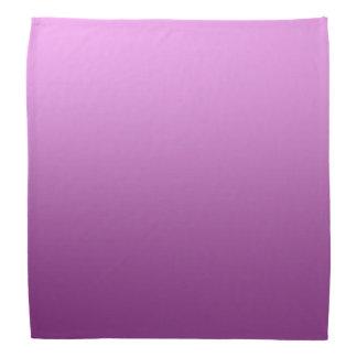Calm One Color Gradient Pink Bandana