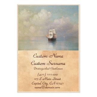Calm Seas Ivan Aivazovsky seascape waterscape sea Pack Of Chubby Business Cards