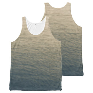 Calm Water At Twilight All-Over Print Singlet