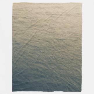 Calm Water At Twilight Fleece Blanket