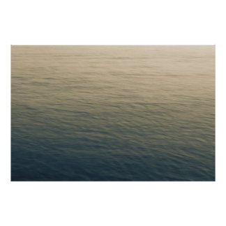 Calm Water At Twilight Poster