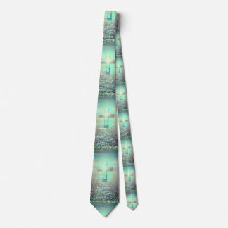 Calm Waters Baptismal Cross Tie