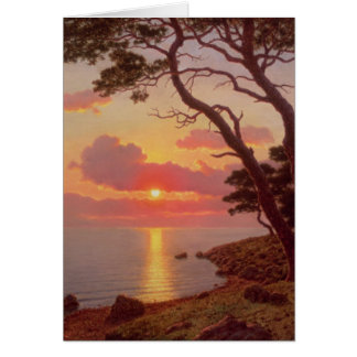 Calme de Soir, Cote d'Azur Card