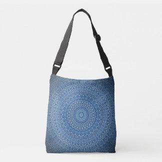 Calming Blue Mandala Cross Body Bag
