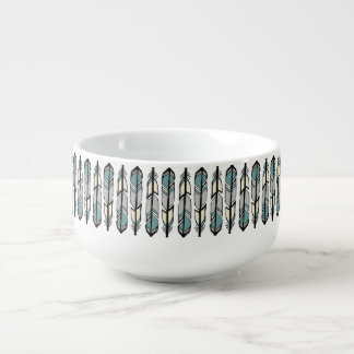 Calming Feathers Soup Mug