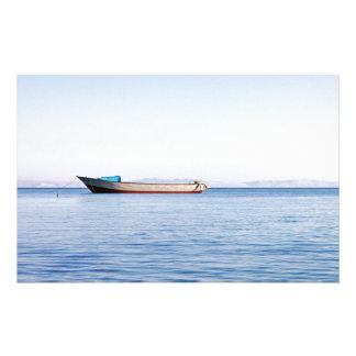 Calming sea customised stationery