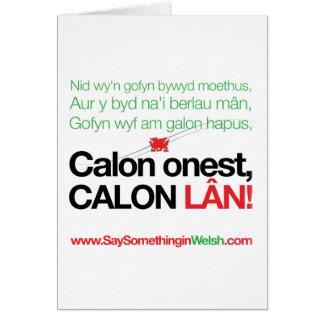 Calon Lan Card