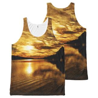 Caloosahatchee River Sunset All-Over Print Tank Top