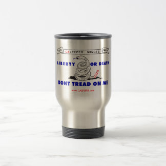 Calpeper® Steel Travel Mug