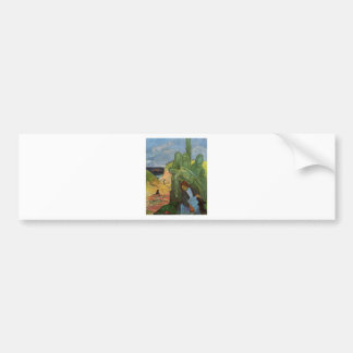 Calvaire breton by Paul Gauguin Bumper Sticker