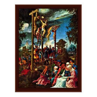 Calvary By Altdorfer, Albrecht Postcard