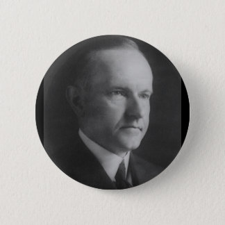 Calvin Coolidge 30 6 Cm Round Badge