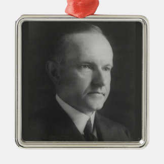 Calvin Coolidge 30th President Metal Ornament