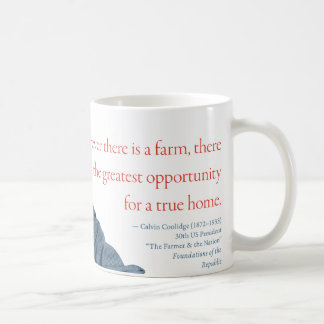 "Calvin Coolidge Mug #13 ""Farm"""