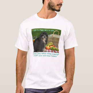 Calvin's 2014 Puppy Mill Awareness shirt