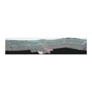 Calypso Panorama of Spirit's View from Troy in 3D Stretched Canvas Print