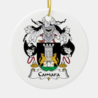 Camara Family Crest Ceramic Ornament