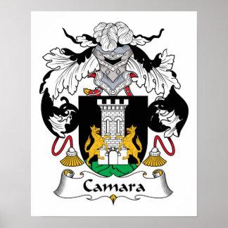 Camara Family Crest Poster