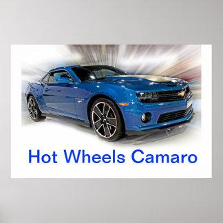 Camaro Hot Wheels Special Edition Poster