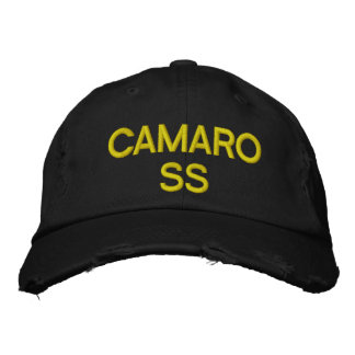Camaro SS Embroidered Cap