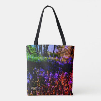 Camassia Park in Bloom by Aleta Tote Bag