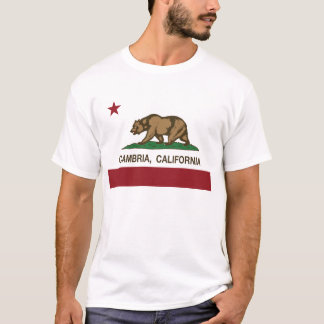 Cambia California Republic Flag T-Shirt