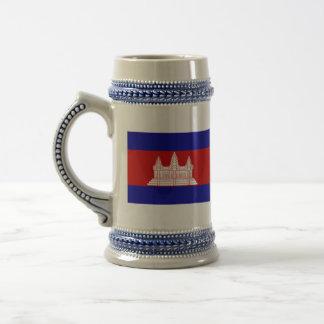 cambodia beer stein