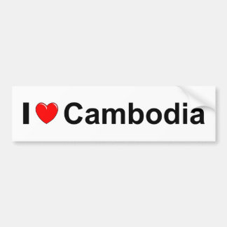 Cambodia Bumper Sticker