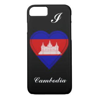 Cambodia Cambodian flag iPhone 7 Case