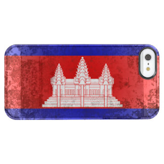 Cambodia Clear iPhone SE/5/5s Case