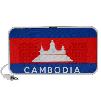 cambodia country flag symbol name text notebook speaker