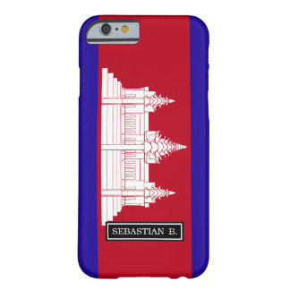 Cambodia Flag Barely There iPhone 6 Case