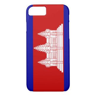 Cambodia Flag; Cambodian iPhone 7 Case