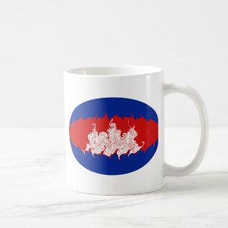Cambodia Gnarly Flag Mug