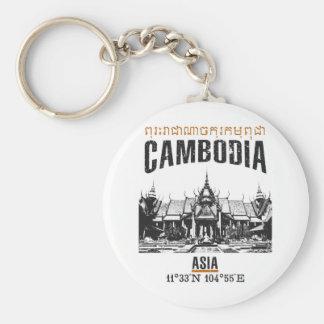 Cambodia Key Ring