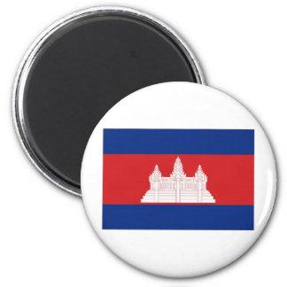 Cambodia National Flag Magnet