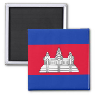 Cambodia National World Flag Magnet