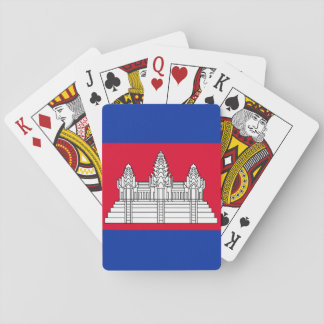 Cambodia National World Flag Playing Cards