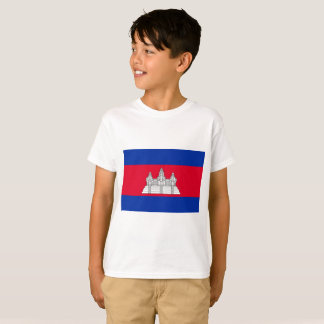 Cambodia National World Flag T-Shirt
