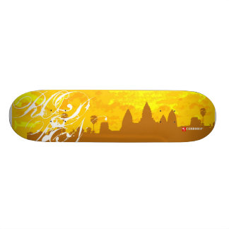 Cambodia : one 20 cm skateboard deck